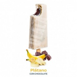 Plátano con Chocolate